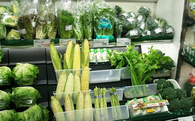 Pemasaran sayuran organik di swalayan